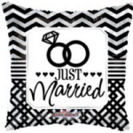 "JUST MARRIED BALLOON  18""  19737-18"